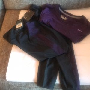 Nike right fit leggings and Sri fit top